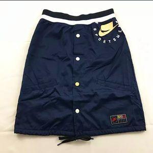 Rare/Exclusive NIKE Women skirt Size XS Navy Blue